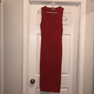 Maxi fitted dress